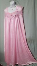 COOL& COMFORTABLE LIGHT PINK LONG BABYDOLL NIGHTGOWN  WOMENS SIZE 4X GIFT
