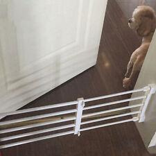 Dog Gate Pet Indoor Retractable Fence Puppy Safety Barrier Door Home Playpen 1pc
