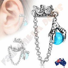 Unbranded Surgical Steel Cuff Fashion Earrings