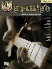 Grunge Sheet Music Guitar Play-Along Book and CD NEW 000700467