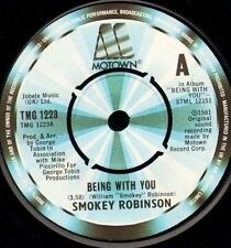 """SMOKEY ROBINSON being with you/what's in your life for me TMG 1223 uk 7"""" WS EX/"""