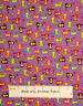 Multicolor Monkey & Heart Daisy Star Toss Novelty Girl Marcus Cotton Fabric YARD
