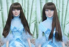 "Zhang_young wig for Tonner 22""Tonner American Model doll(1-22wig-2)"