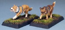 War Dogs Crusaders Adept Reaper Miniatures Warlord Canine Guard Melee RPG