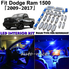 11x Blue LED Interior Lights Package Kit For 2009 - 2016 2017 Dodge Ram 1500