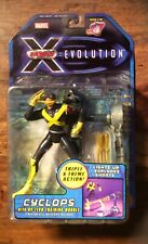 XMen Evolution Cyclops with Optech Training Module ToyBiz Unopened Boxed