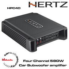 Hertz HCP4D Four Channel Class D Car Amplifier Subwoofer Amp 580Watt