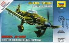 JUNKERS Ju-87 B-2 STUKA (LUFTWAFFE MKGS) #7306 1/72 Zvezda