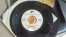 """7"""" PROMO RARE BRUCE SPRINSTEEN TOUGHER THAN THE REST G.MICHAEL KISSING A FOOL EX"""