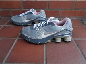 NIKE SHOX Trainers With Sensor Tracker in Sole * 6 uk *