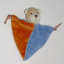 CAT  C.A.T Bär Teddy Teddybär - Schmusetuch Schnuffeltuch Kuscheltuch blau ... *