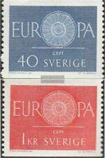 Schweden 463-464 (kompl.Ausg.) postfrisch 1960 Europa