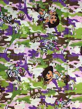 "Dora Explorer Wild Life Cameo Cotton Fabric - 1 Yard x 42"""