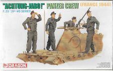 Dragon Panzer Crew, France 1944, 'Aircraft!'  Figures 1/35  6191, 4 Figures ST