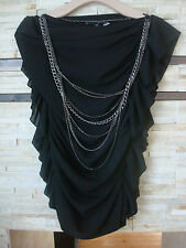 Worn 1 time Robert Rodriguez Chain Blouse - sz.0/2