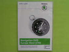 DVD NAVIGATION CY EUROPA WEST 2013 V10 SKODA SUPERB 3T OCTAVIA YETI VW RNS 510