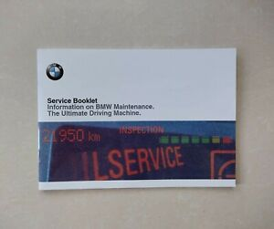💯ORIGINAL New BMW SERVICE HISTORY BOOK FOR ALL MODELS PETROL & DIESEL
