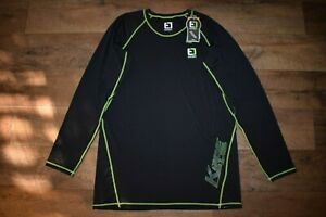 Element Outdoors Kore Series Thermal L/S Base Layer Shirt Size XL (Black) NWT