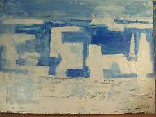 Art Contemporain Cubisme DGL STAEL ZELTER Fauve Huile Sur Panneau Signée 4