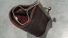 ancien porte monnaie en cuir