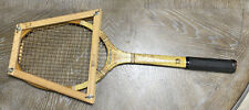 Antique Rawlings Airliner Wooden Tennis Racket Racquet Vintage Wall Art Decor