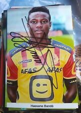 Signiertes Foto Hassane Bande Ajax Amsterdam  NEU KV Mechelen