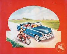 Chocolade Jacques –Autos-Motos 1951