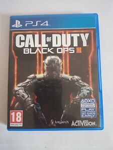 *** Call of Duty Black OPS III 3 PS4 Playstation 4***