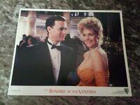Bonfire Of The Vanities lobby cards - Tom Hanks, Melanie Griffiths, Bruce Willis