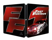 THE FAST AND THE FURIOUS - STEELBOOK - BLU-RAY