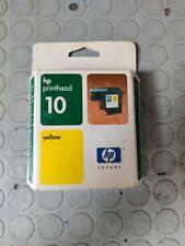 TESTINA ORIGINALE HP 10 giallo NUOVA IMBALLATA SCADUTA c4803a