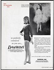 "1960 Danskins ""Ballet Wear"" Renoir ""Dancer"" Painting Vintage Print Advertisement"