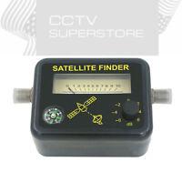 Satellite Signal Finder FTA DIRECTV Strength Meter Dish With COMPASS