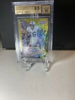 2018 PANINI NATION CONVENTION VIP GOLD ROOKIE SAQUON BARKLEY BGS 9.5/10AUTO POP1