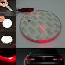 Red 82mm Badge Background LED Light Emblem Logo sticker For BMW 3 5 7 X Series