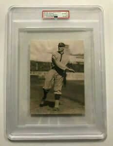 1922 Walter Johnson E220 National  Caramel PSA/DNA Type 1 News Service Photo