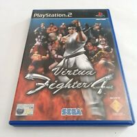 Virtua Fighter 4 (PlayStation, PS2 Game). COMPLETE with manual, GREAT CONDITION