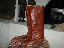 Frye Women's size 8 B Vintage Leather Boot, Color Port