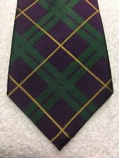 AMERICAN LIVING MENS TIE GREEN PURPLE AND GOLD 3.75 X 61 NWOT