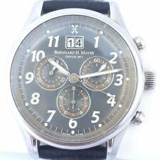 NIB Bernhard H. Mayer Apollo Galaxy Chronograph Mens Watch