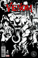 VENOM #1 MARK BAGLEY B&W VARIANT NM SPIDER-MAN CARNAGE GWEN GHOST MARVEL COMICS