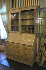 Sekretär Schreibmöbel Louis XVI Barockmöbel Vitrine Büromöbel Schreibtisch