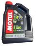 4 LT Litri Olio Moto Motul 4T 5100 10W50 MA2 Technosynthese Ester Semisintetico