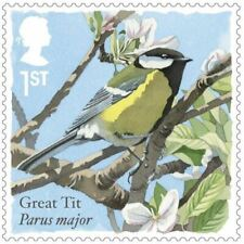 Royal Mail Bird Sound Greeting Cards - open to hear song - FREE P&P