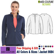 Med Couture Scrub Activate Women's Performance Fleece Jacket 8684