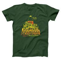 Anaconda Malt Liquor  Black Funny Movie Forest Green Basic Men's T-Shirt