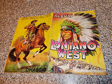 ALBUM LONTANO WEST ED.DARDO 1962 COMPLETO BUONO TIPO INDIANI PANINI LAMPO EDIS