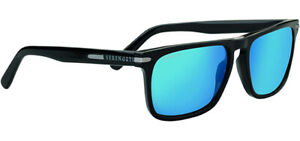 Serengeti Carlo Large Polarized Men's Square Sunglasses w/ Glass Lens 8692 Italy