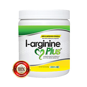 Lemon Lime L-arginine Plus - 5110mg L-Arginine 1010mg L-Citrulline