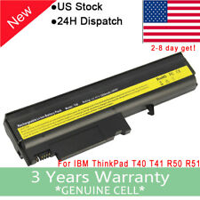 5200mAh Li-ion Battery for IBM T40 T41 T42 T43 R50 92P1075 93P5002 FRU 92P1073